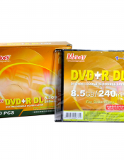 Melody DVD+R DL Recordable Double Layer 8.5GB/240min/1-8X 10 Discs