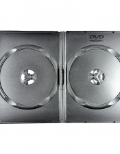 DVD Twin Case Black
