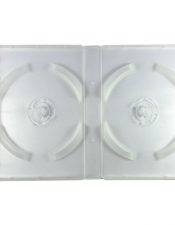 DVD Twin Case White