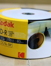 Kodak Printable CD-R 52X 700MB Pack 50