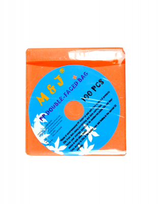 CD Sleeve Orange (100 Pack)